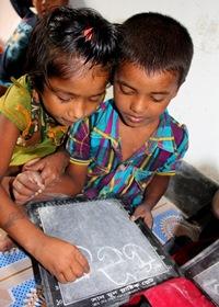 děti v centru Čalantika