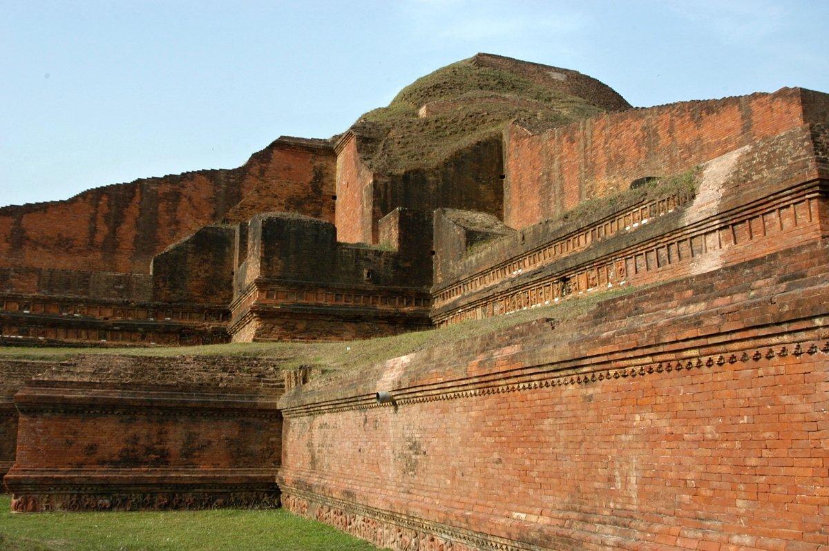 chrám Somapura Mahavihara